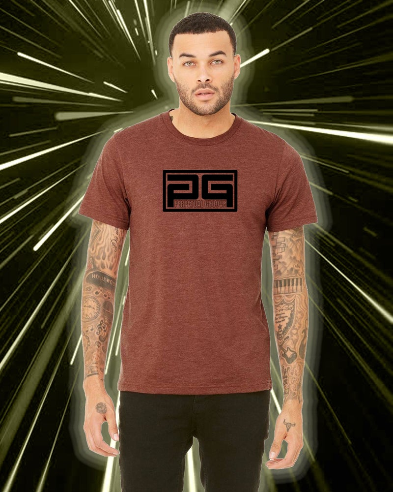 Image of PGroove 2018 Tour Tee - Clay / Black