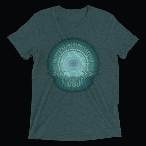 Image of Melt T-shirt (Emerald Green)