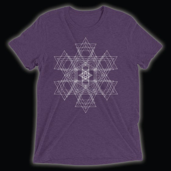 Image of Refraction T-Shirt (Purple)