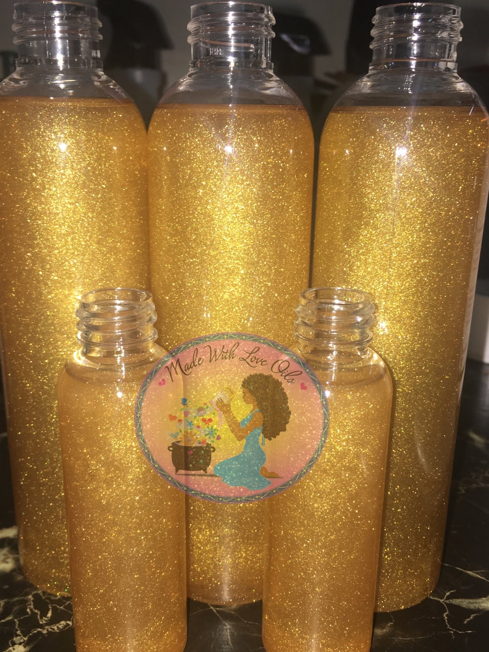 Image of Shimmer Me 24 Karat Body Oil