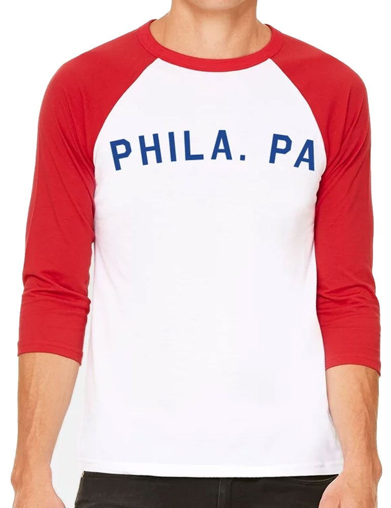 Image of Phila. PA 3/4-Sleeve Shirt