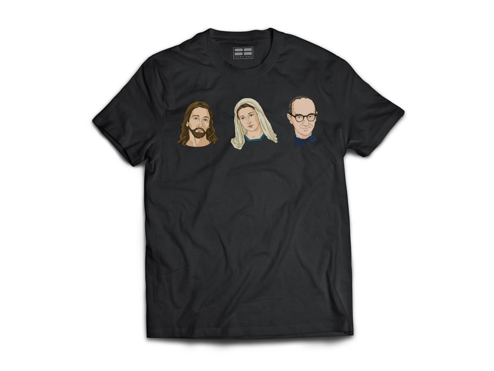 Image of Jesus, Mary & Joseph T-Shirt Pre-Order