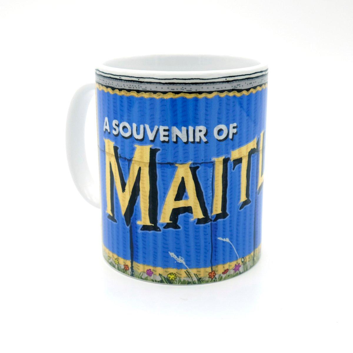 Image of Maitland tin shed mug