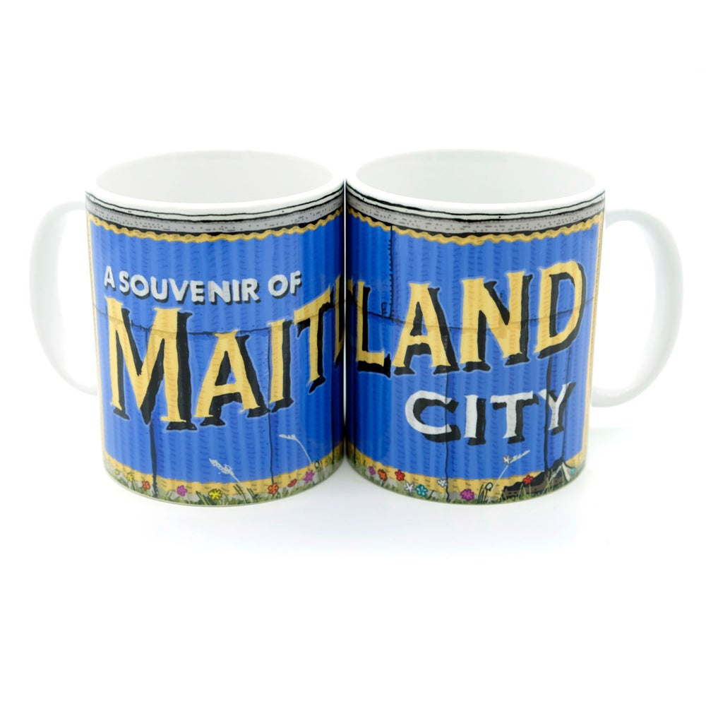 Image of Maitland tin shed mug