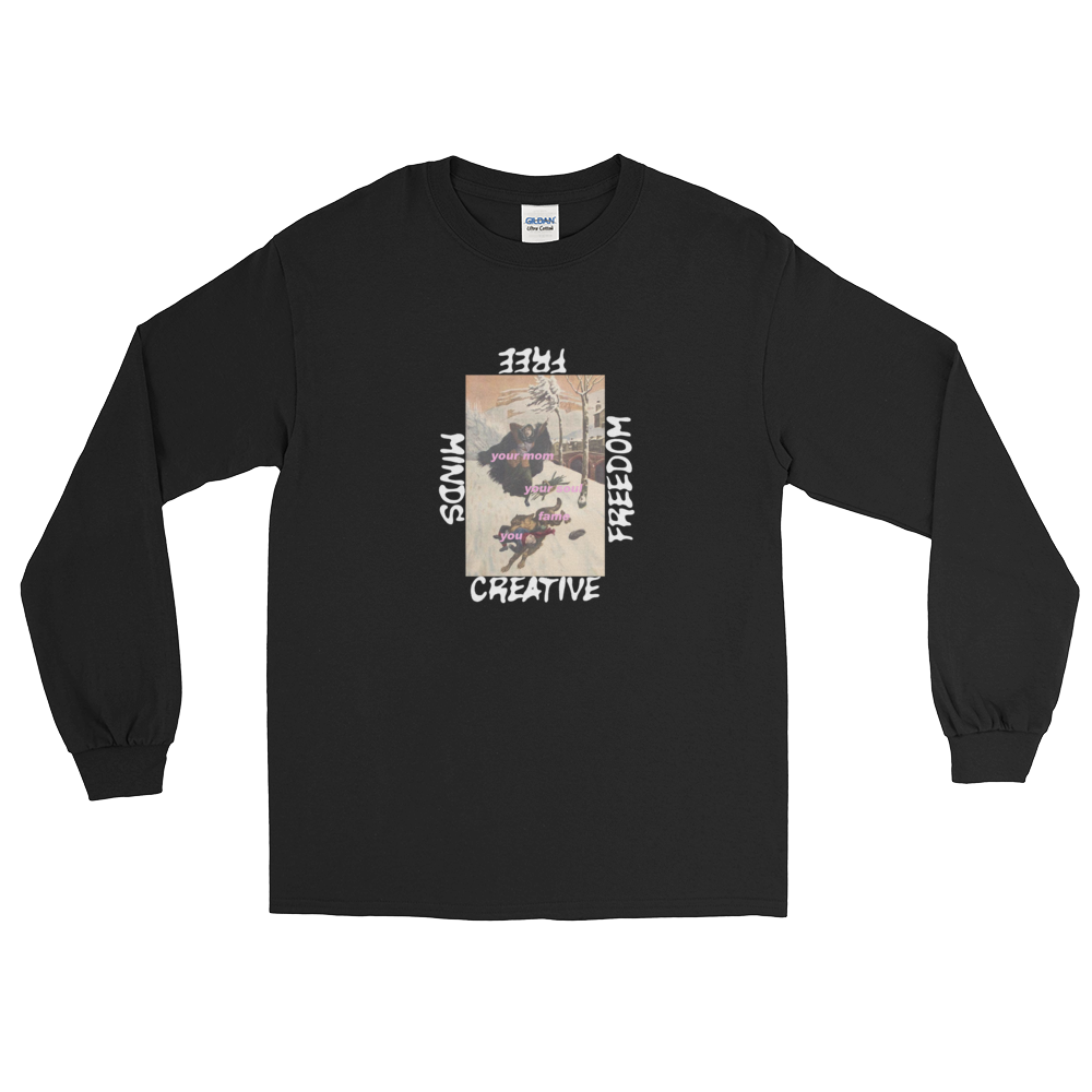 Image of WOLF ATTACK LONGSLEEVE
