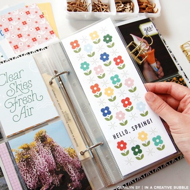 Image of 3x8 Spring Journaling Cards (Digital)