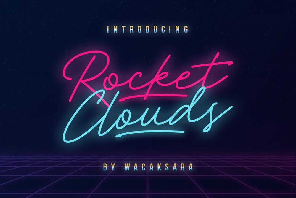 Image of Rocket Clouds