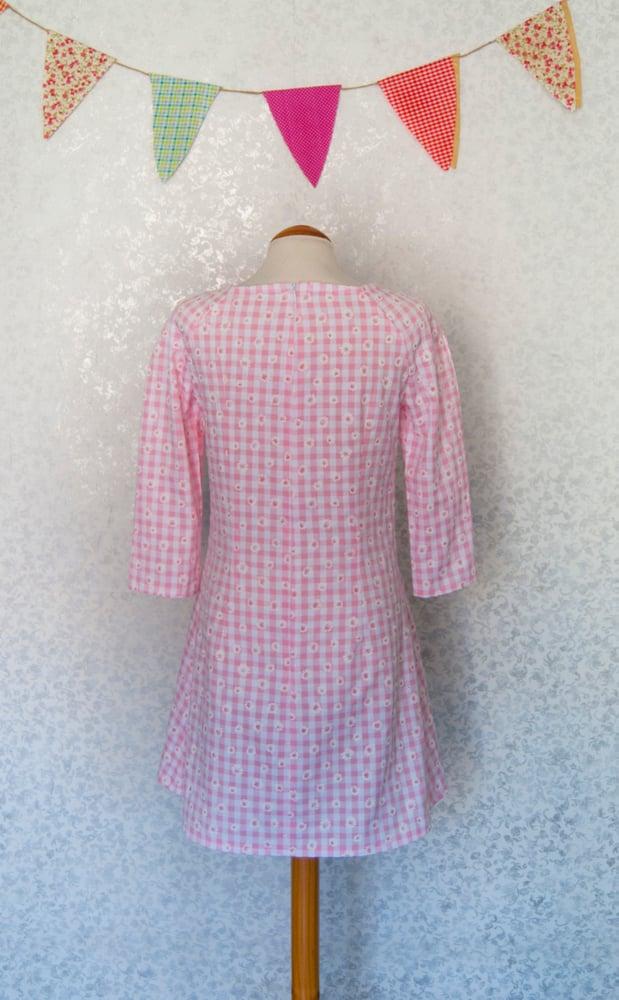 Image of Vestido 'Vichy rosa'