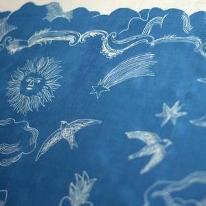 """Image of Silk scarf  """"MIn ros min lilja"""""""
