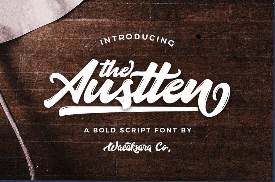 Image of Austten Script