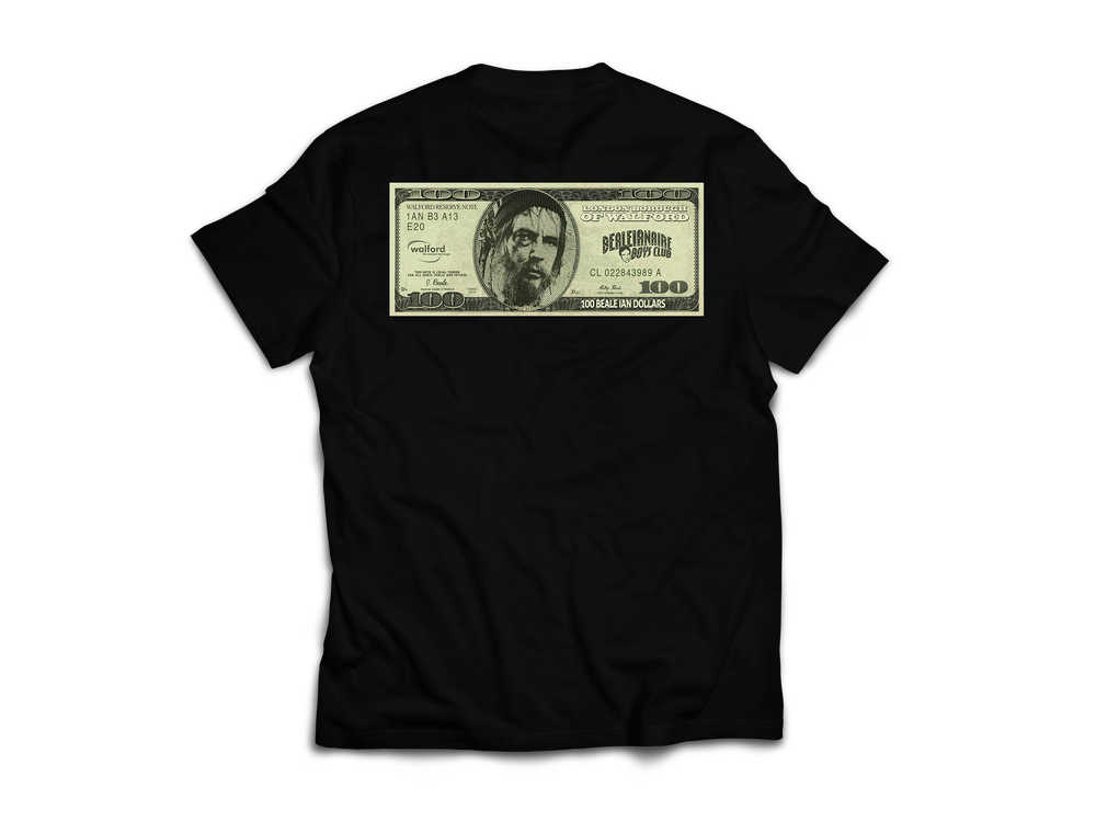 Image of Dollar Beale Logo Tee - Black