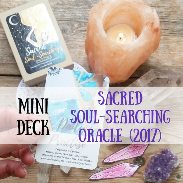 Image of Sacred Soul Searching Deck - 2nd Deck (2017)