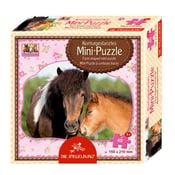 Image of Minipuzzle con bordes estampados de la colección Amigos de los caballos