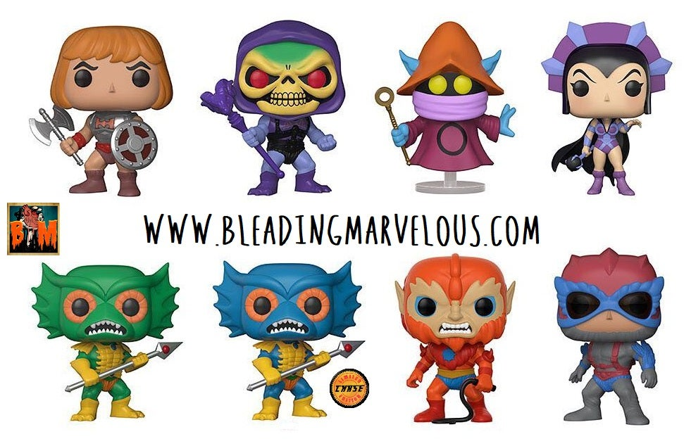 Image of Masters of the Universe Pop! Vinyl Figures