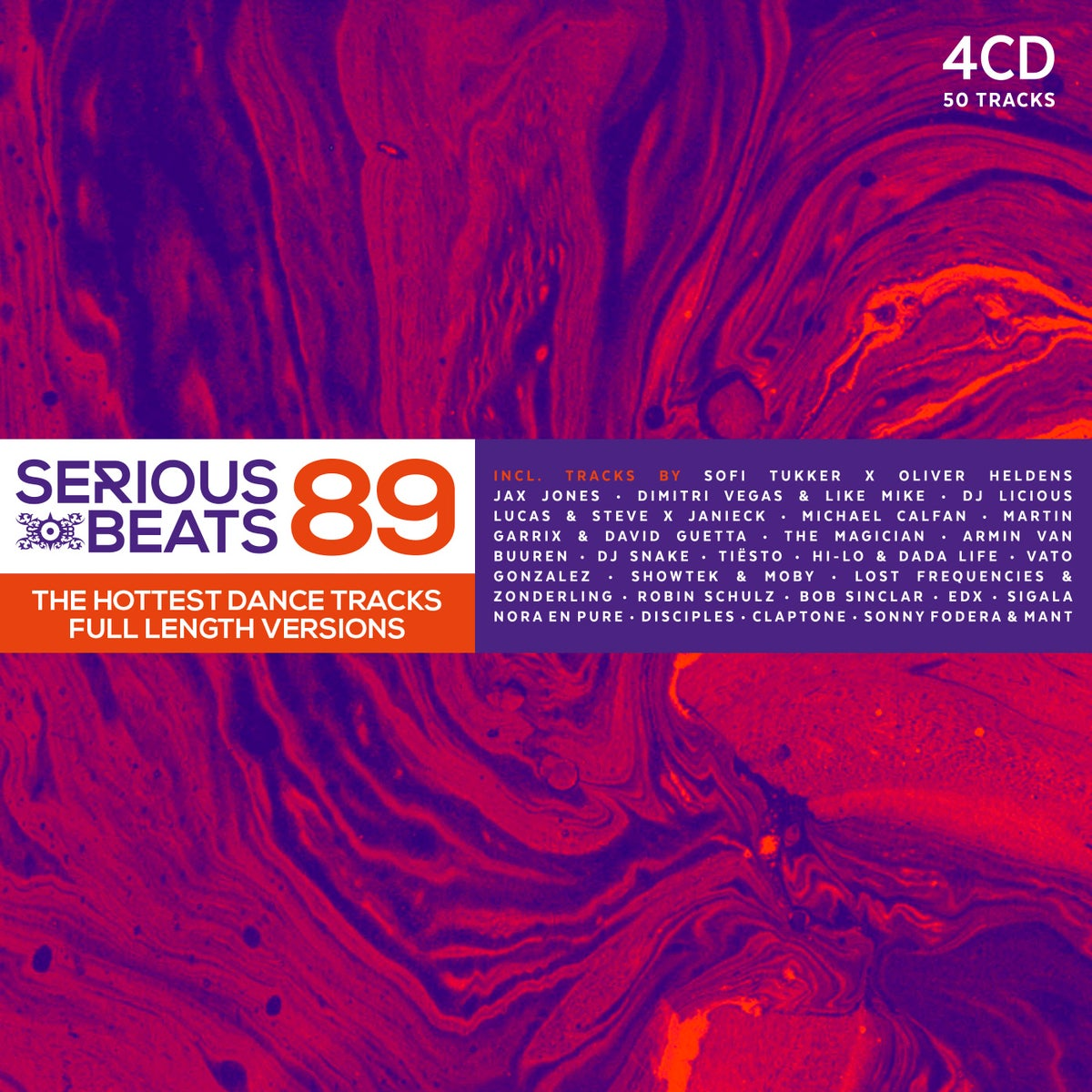 Image of VARIOUS ARTISTS - SERIOUS BEATS 89 (4CD)