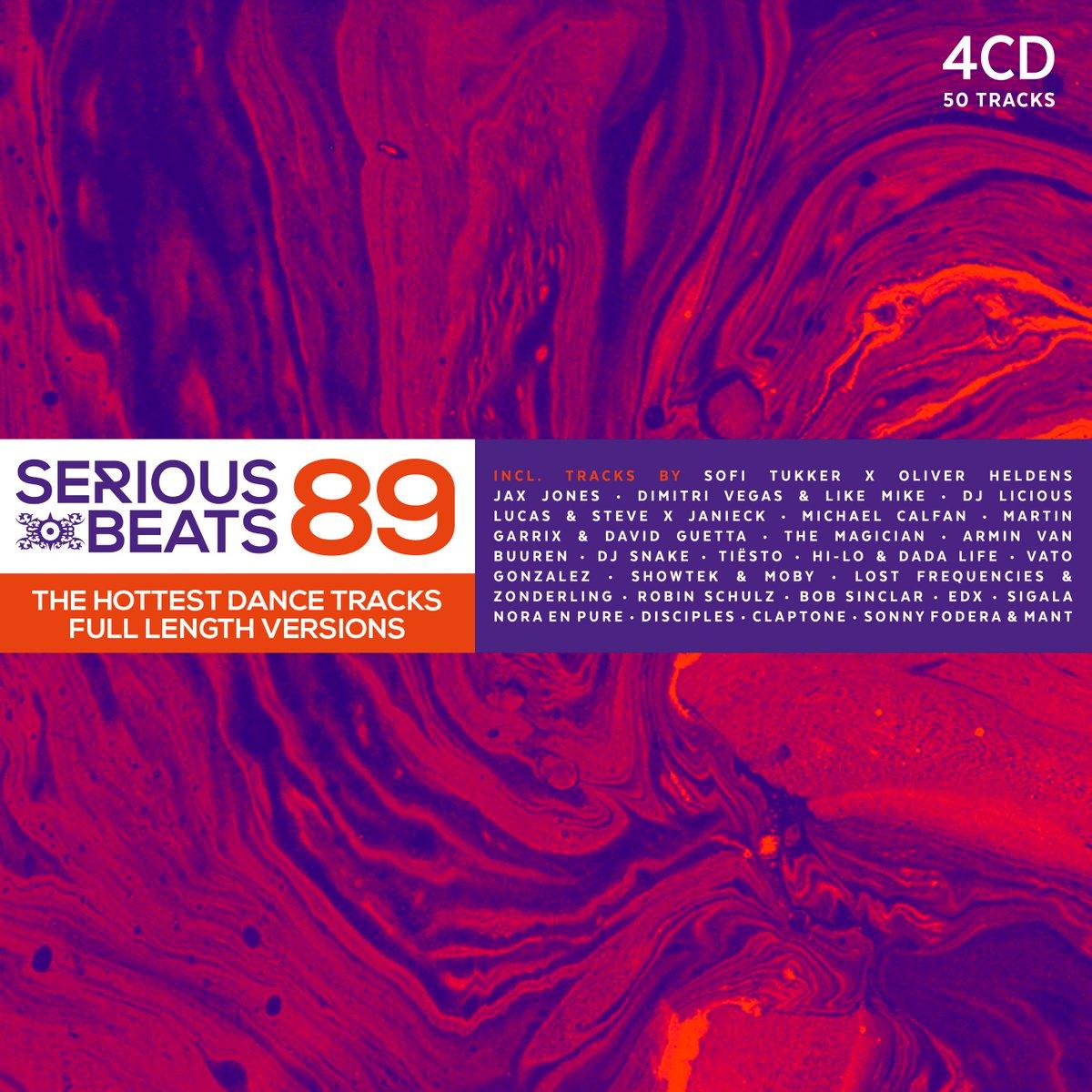 Image of VARIOUS ARTISTS - SERIOUS BEATS 89 (4CD)
