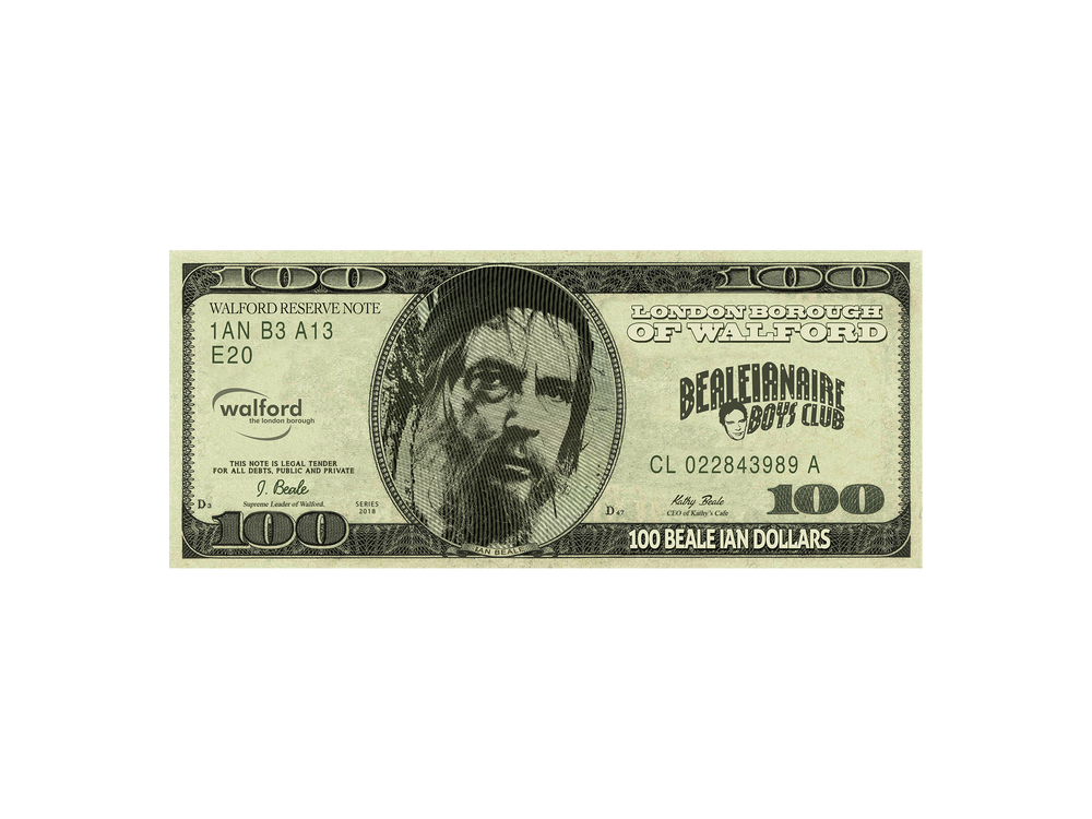 Image of Dollar Beale Vinyl Sticker