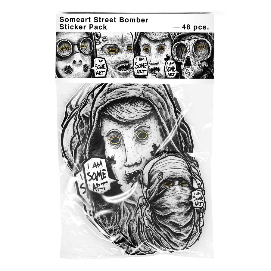 Image of Friendly Faces 5.0 - Street bomber sticker pack