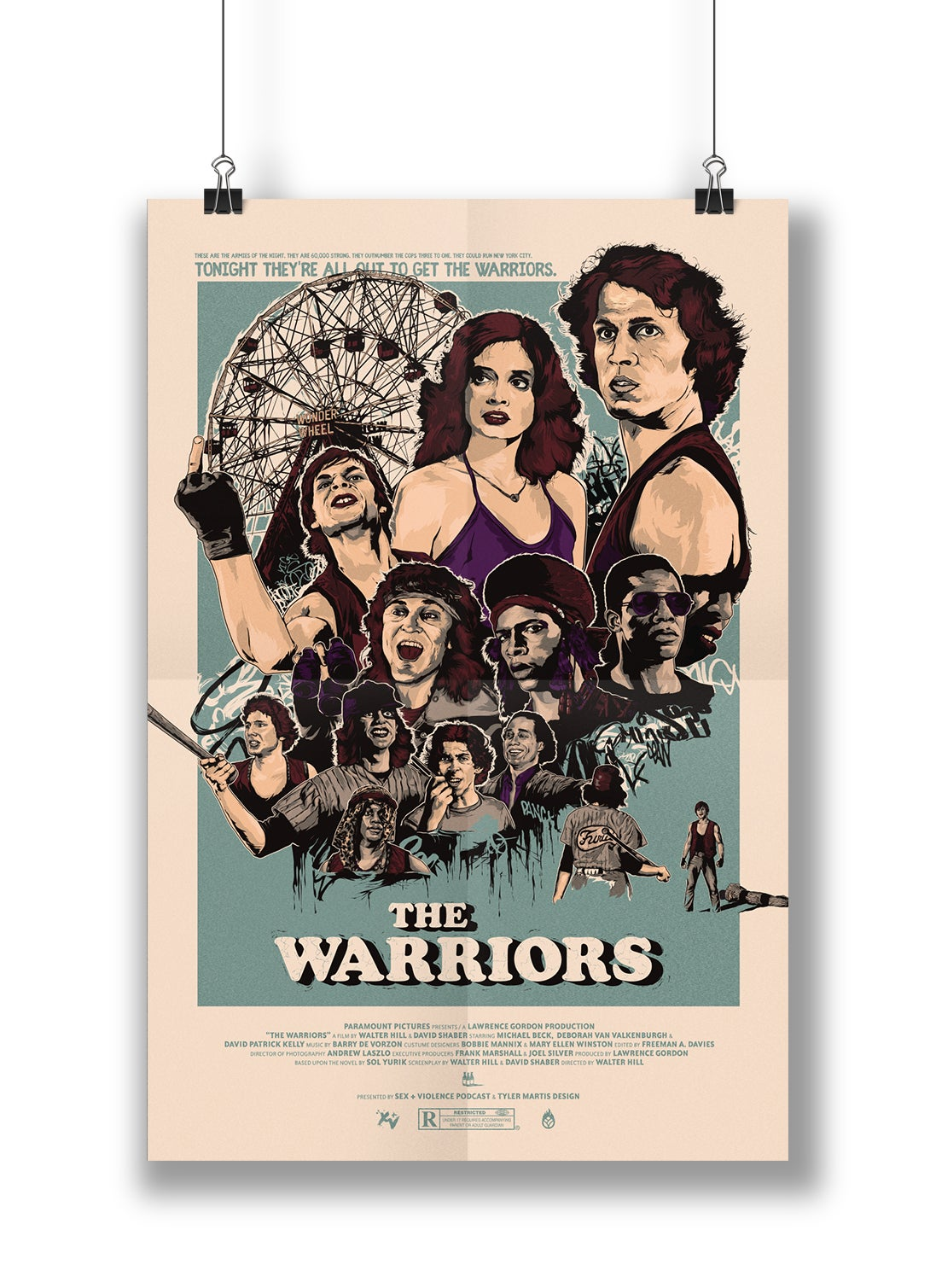 Image of The Warriors | 24x36