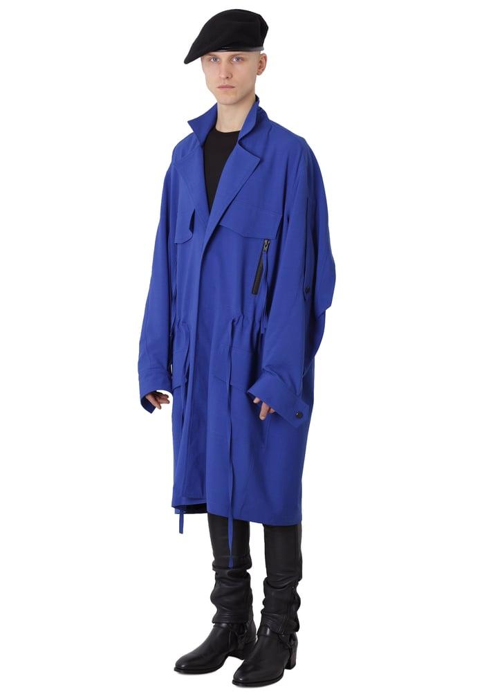 Image of Ora Coat - Blue