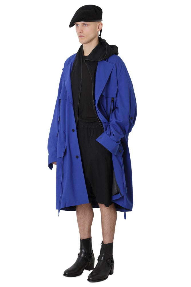 Image of NEWS - Ora Coat - Blue