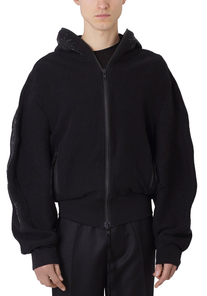 Image of Terry Thorn Zip Hoodie