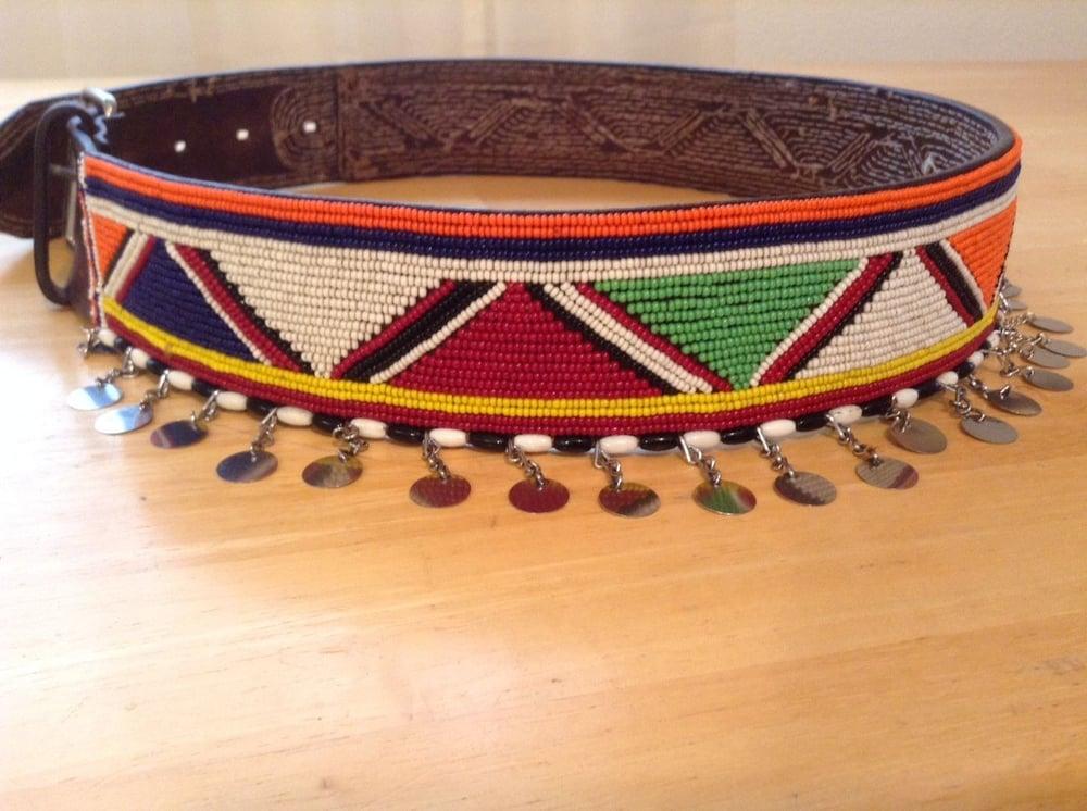 Image of Maasai Moran Beaded belt