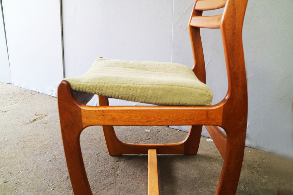Image of Set of 4 1960's dining chairs by Portwood
