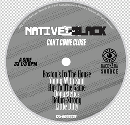 Image of Natives In Black - Can't Come Close LP (SOLD OUT)