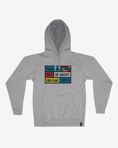 Image of Art et Sport de Rue Wall · Grey Hoodie