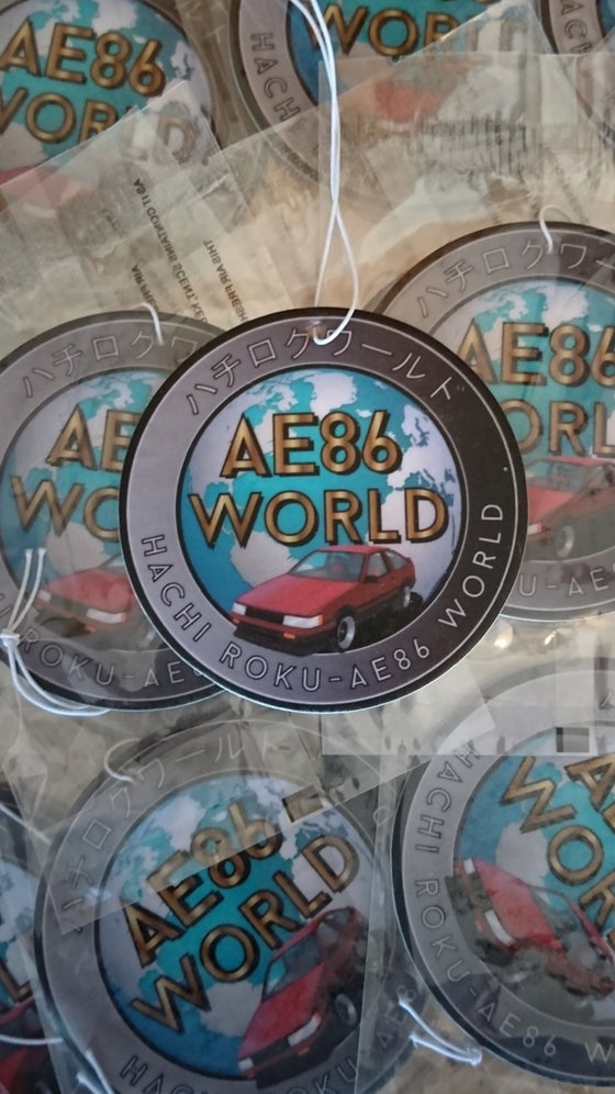 Image of AE86 WORLD Air Freshener