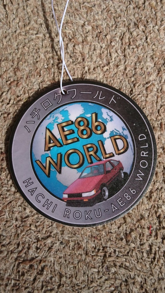 Image of AE86 WORLD Air Freshener