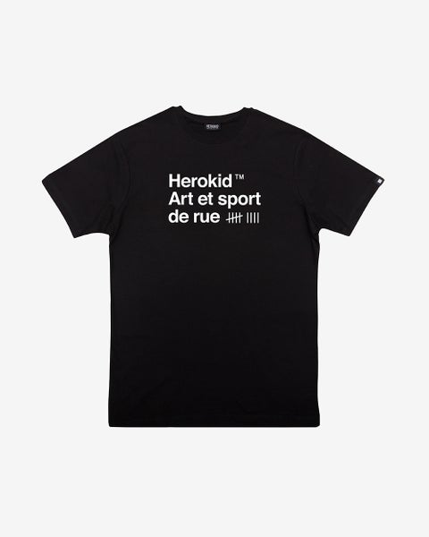 Image of Art et Sport de Rue · Black Tee