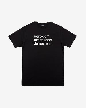 Image of Art et Sport de Rue · Black Tee