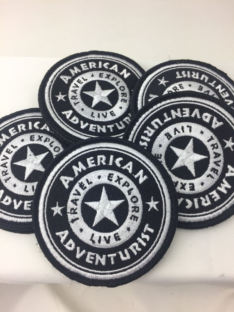 Image of American Adventurist B/W Patch