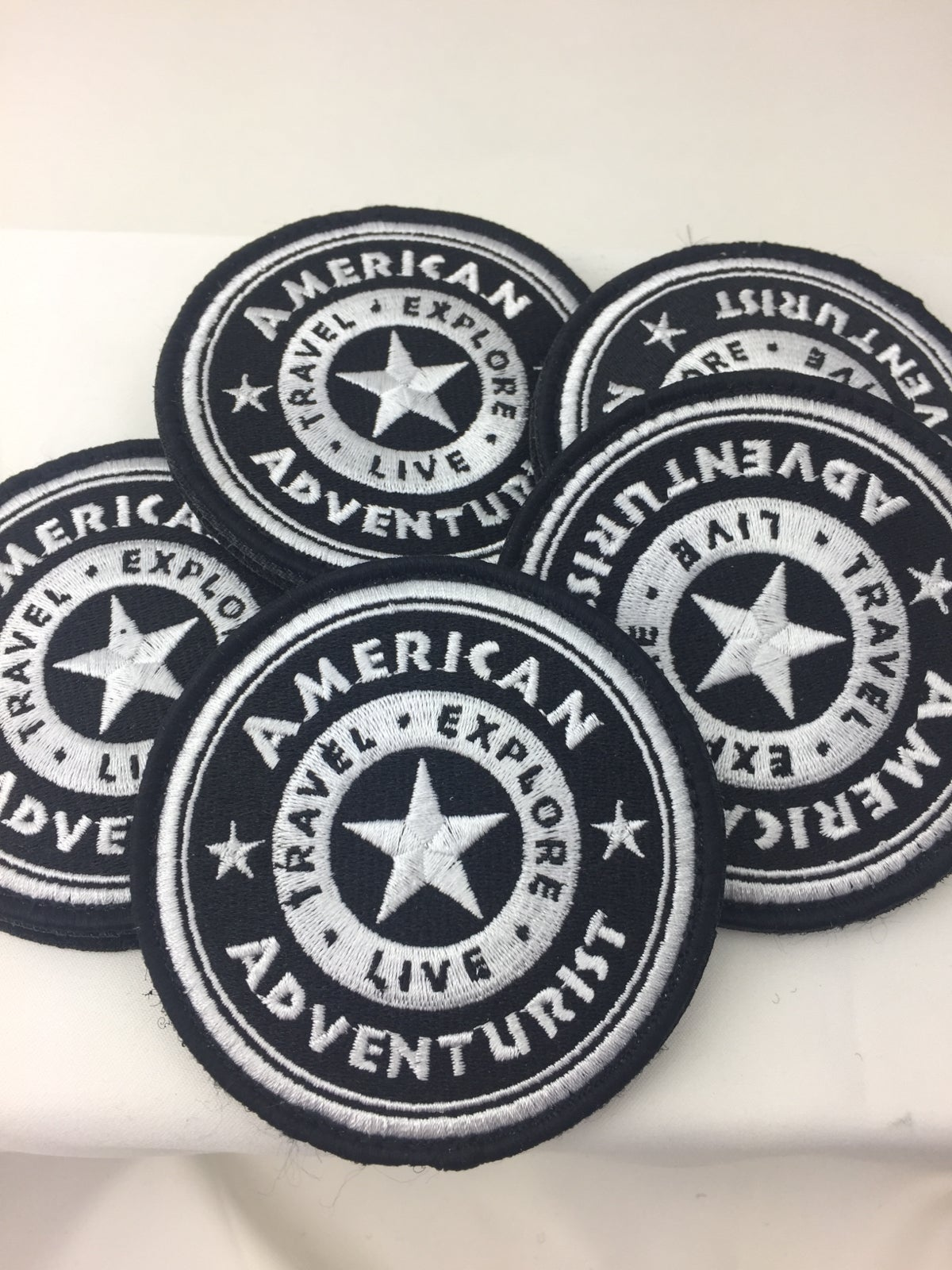 Image of American Adventurist B/W Patch