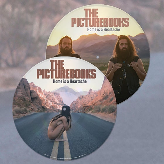 Image of Home is a Heartache 'Picture Disc'- Vinyl