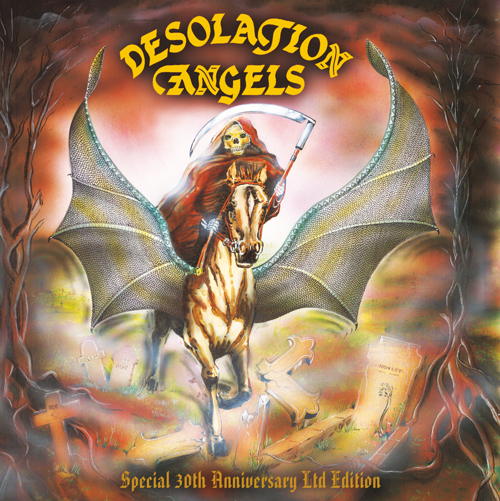 Image of Desolation Angels Double CD Limited Edition 30th Anniversary Debut Album