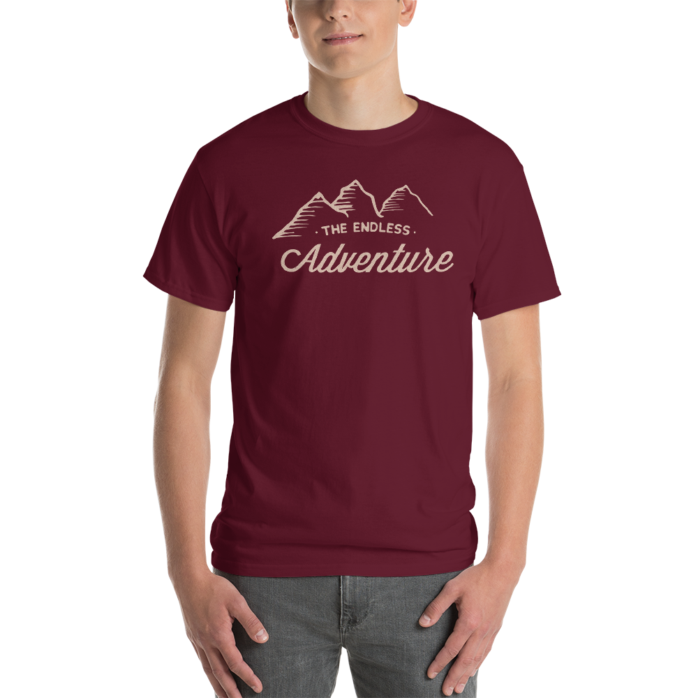 Image of TEA Mountain Logo - Unisex Maroon