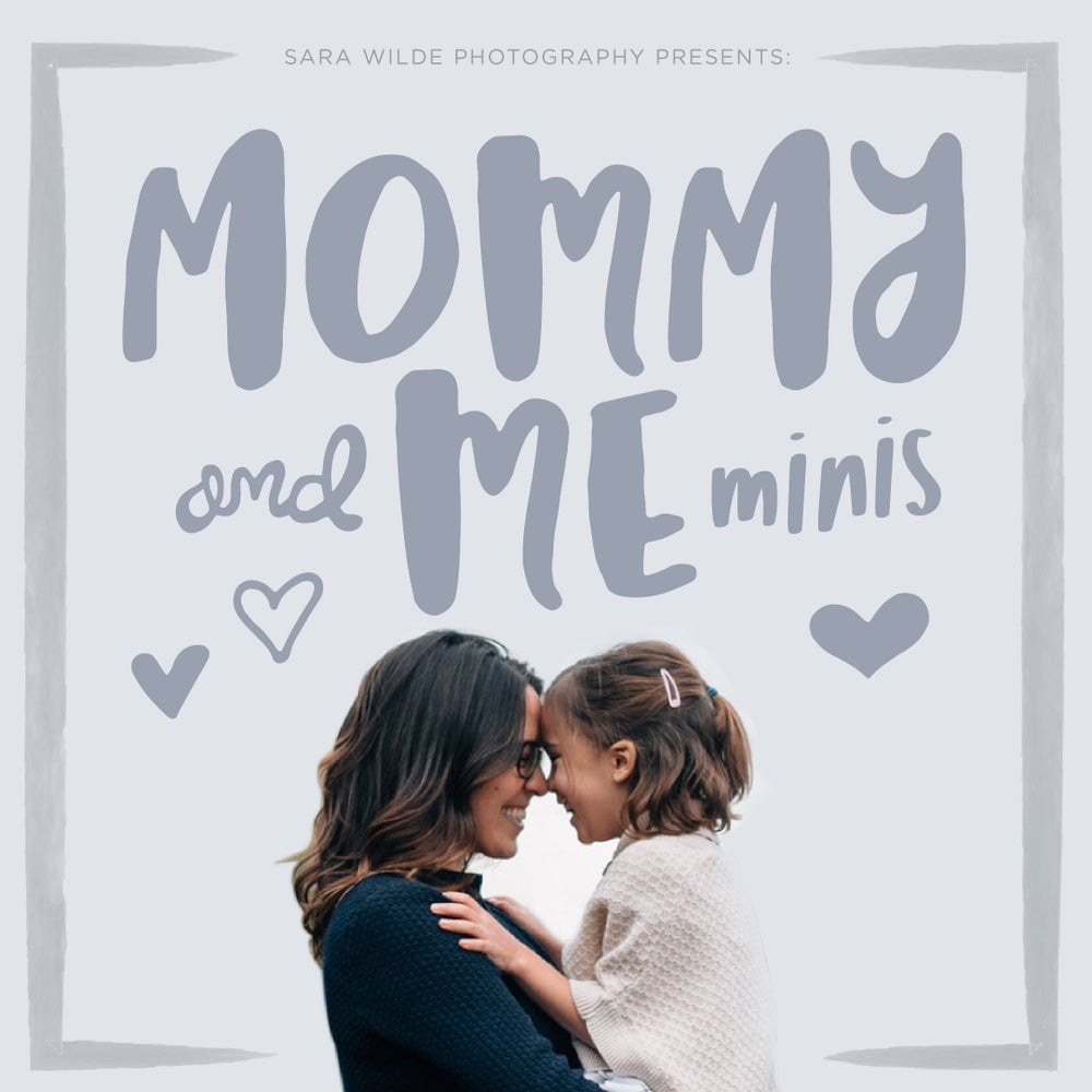 Image of Mommy + Me Minis (Human OR fur-baby!)