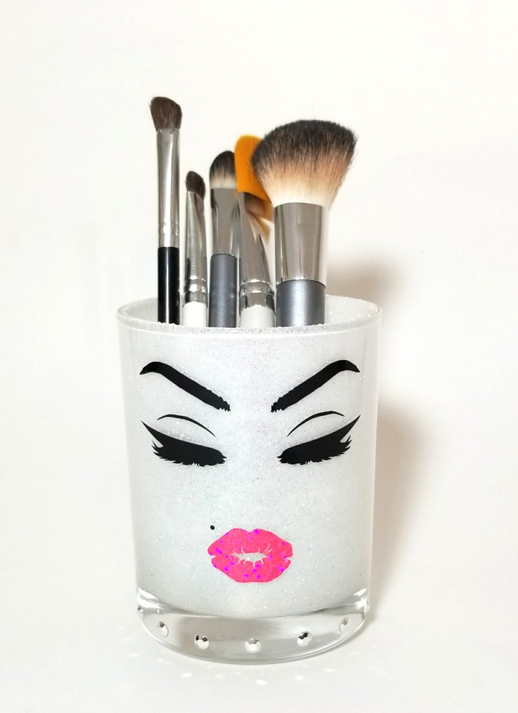 Glitter Makeup Brush Holder Cup Made By Maritza