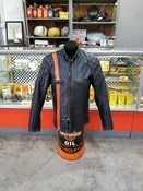 Image of Custom made 60's Leather Riding Jacket