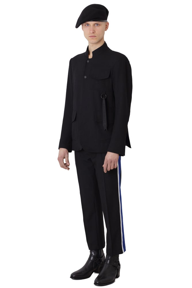 Image of NEWS - D Stripe Tailor Trousers