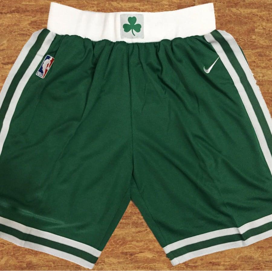 "edd083258 Image of Boston Celtics ""swingman shorts"""