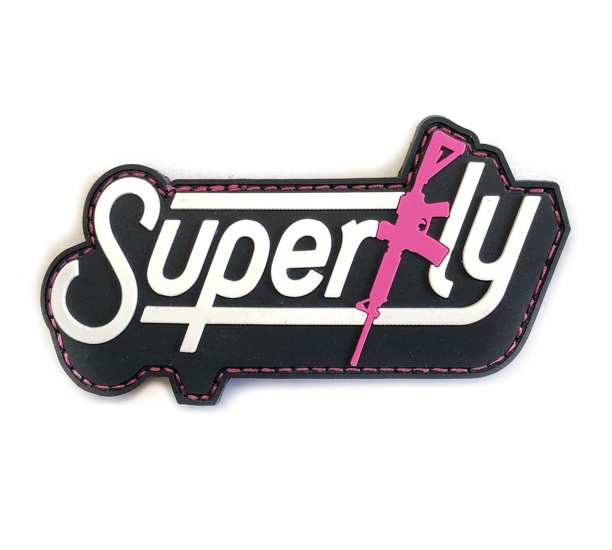 Image of SUPERFLY M4 Patch - Pink