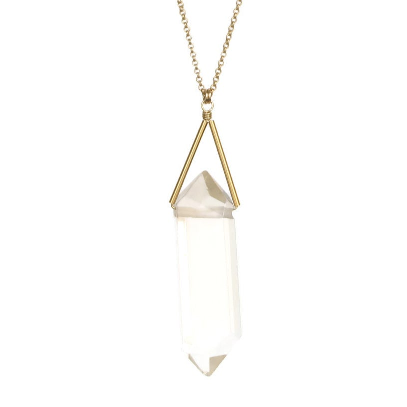 Image of Lago Necklace - Crystal Quartz