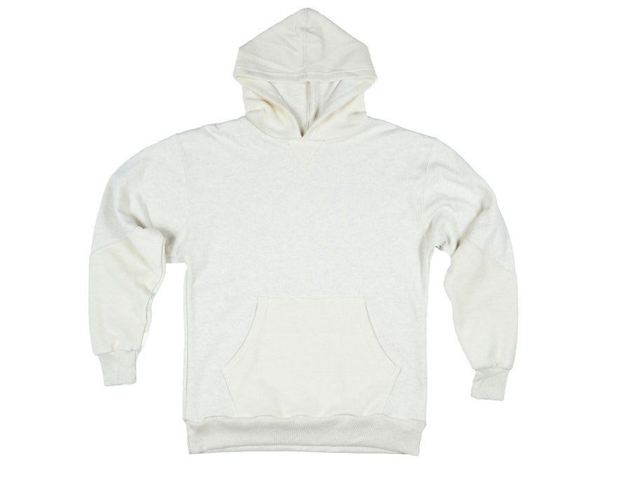 Image of Reverse Terry Hoodie - Oatmeal