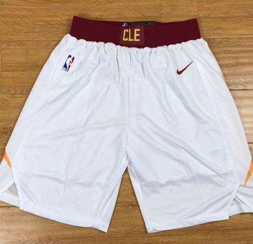"Image of Cleveland cavaliers ""swingman shorts"""