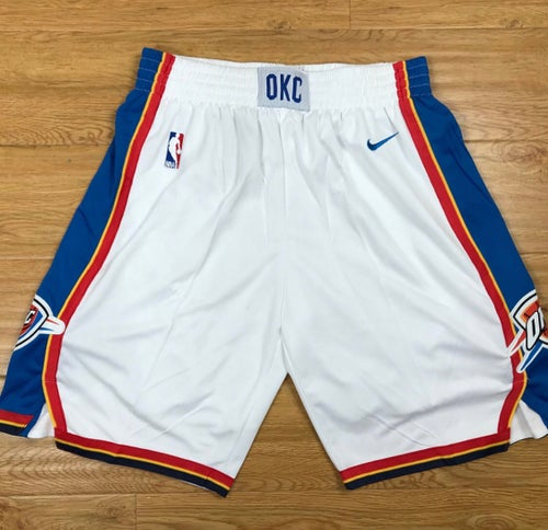 "Image of OKC Thunder  ""swingman shorts """