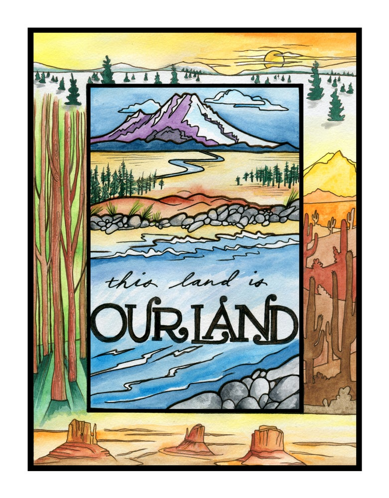"Image of ""Our Land"" print"